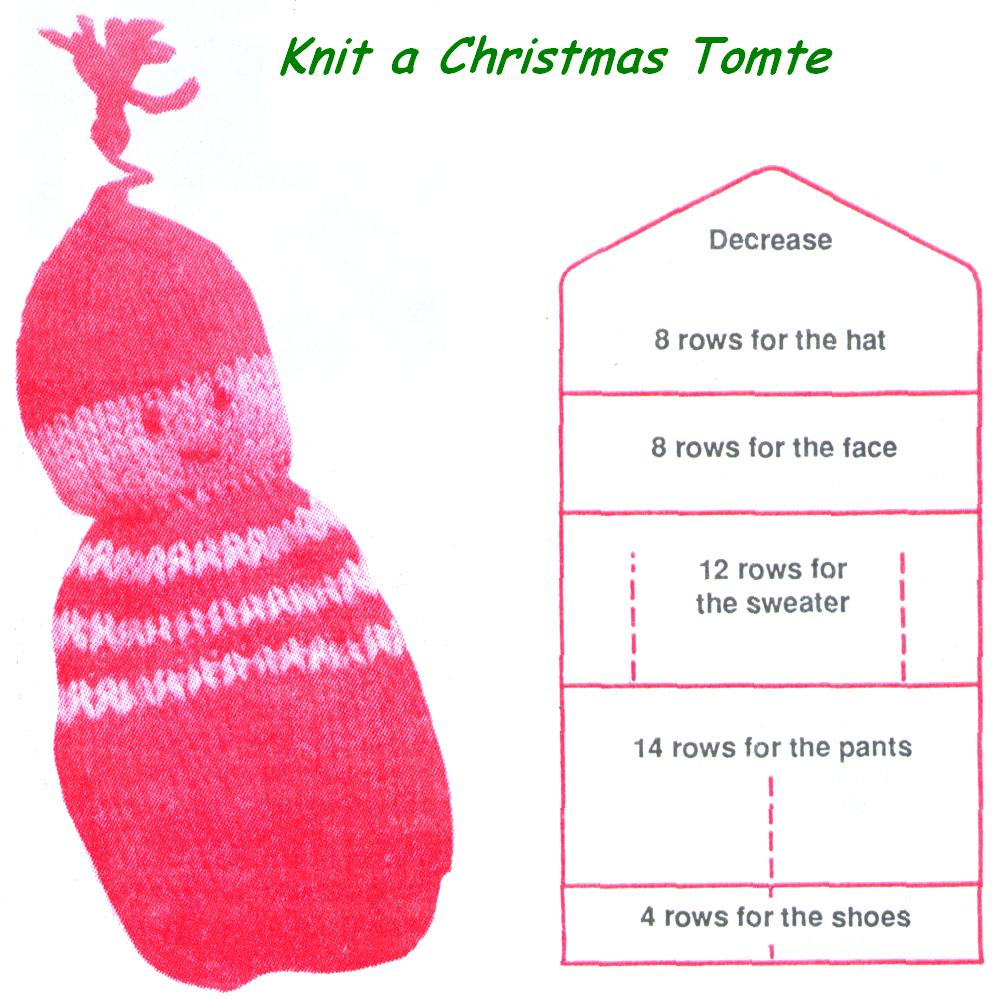 Knit a Christmas Tomte